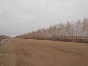 Устройство земляного полотна на реконструируемом участке